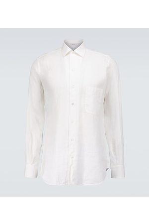 Loro Piana Andre linen shirt