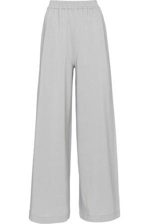 Joseph Dames Wijde broeken - Wide-leg cotton jersey pants