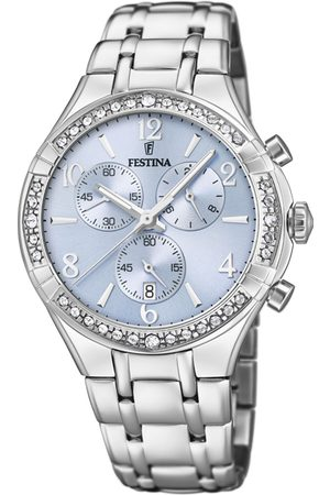 Festina Dames Horloges - Horloges Watch Boyfriend collection Zilverkleurig