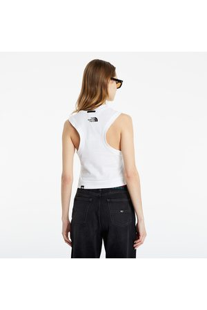The North Face Black Box Tank White