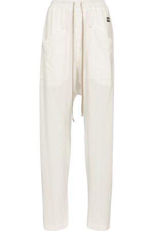 Rick Owens DRKSHDW cotton cargo sweatpants