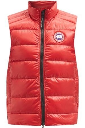 Canada Goose Crofton Quilted Down Gilet - Mens - Red