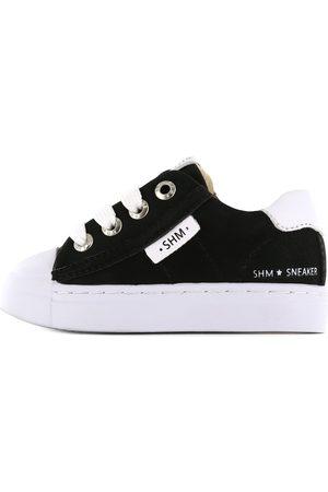 Shoesme Jongens Sneakers - Zwarte lage sneaker