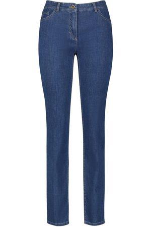 Gerry Weber Dames Pantalons - Pantalon Jeans 92307-67840 Denim