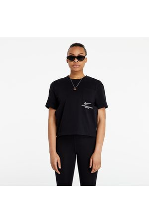Nike Sportswear Swoosh Top Black/ White