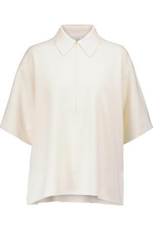 CO Merino wool polo shirt