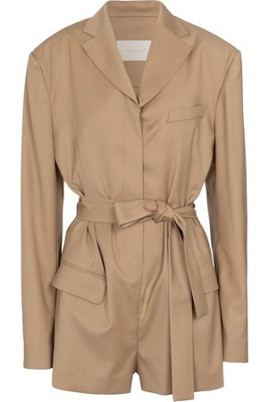 Low Classic Belted playsuit
