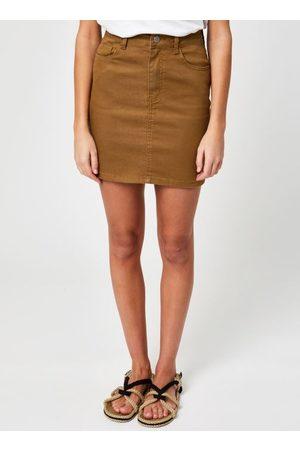 VILA Vicassie Short Denim Skirt by