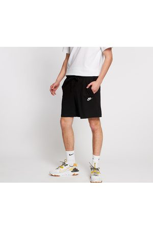 Nike Sportswear Club Jersey Shorts Black/ White