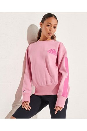 Superdry Dames Shirts - Mountain Sport Mono sweatshirt met ronde hals