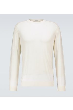 CARUSO Wool crewneck sweater