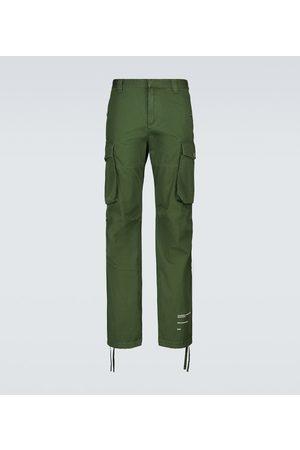 OFF-WHITE Cotton cargo pants