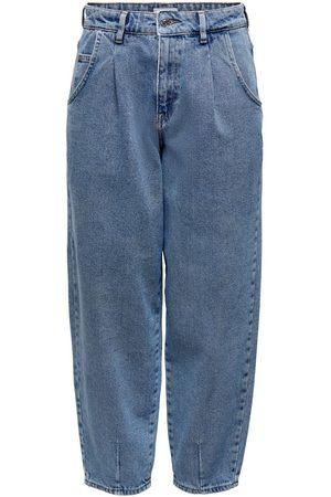 ONLY Dames High waisted - Onlverna Bomb Balloon High-waist Jeans Dames Blauw