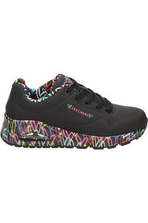 Skechers Uno Loving Love lage sneakers