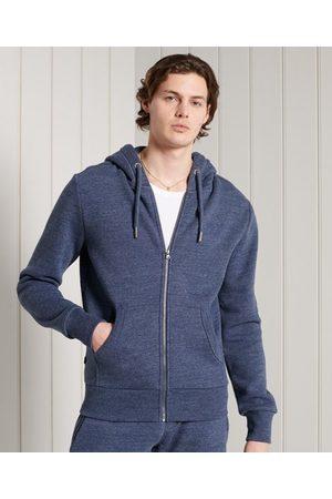 Superdry Heren Truien - Klassieke hoodie met rits uit de Orange Label-collectie