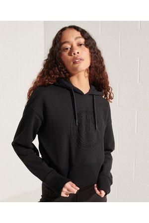 Superdry Expedition hoodie met reliëfopdruk en wijdvallende pasvorm