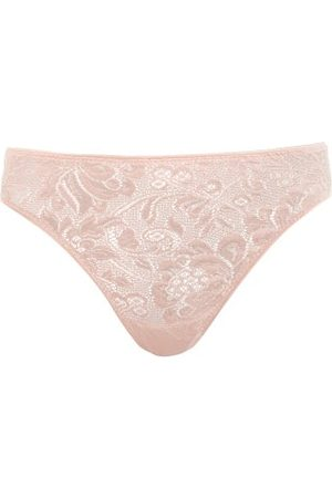 Araks Dames Strings - Tina Floral-lace Thong - Womens - Nude