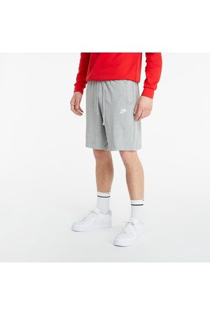 Nike Heren Korte broeken - Sportswear Club Shorts Dk Grey Heather/ White
