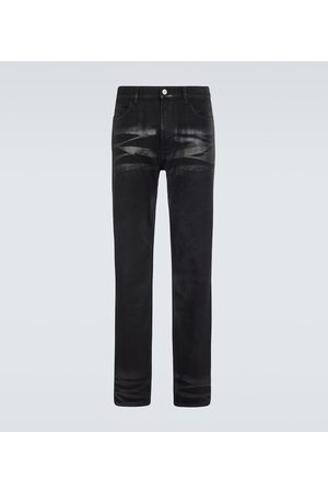 Givenchy Heren Slim - Coated slim-fit jeans