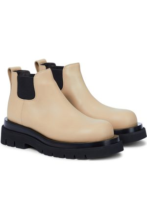 Bottega Veneta Lug leather Chelsea boots