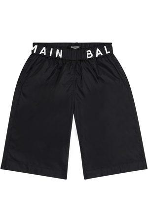 Balmain Jongens Badmode - Logo swim trunks