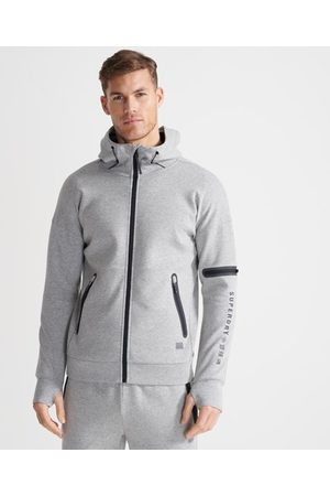 Superdry Sport Training Gym Tech hoodie met rits