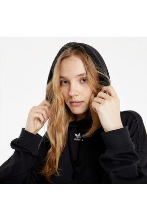 adidas Dames Sweaters - Adidas Loungewear Adicolor Essentials Hoodie Black