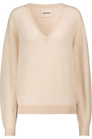 Khaite Stretch-cashmere sweater
