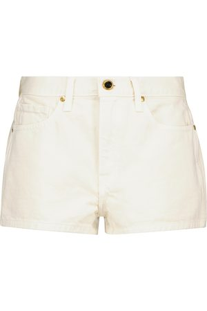 Khaite Charlotte denim shorts