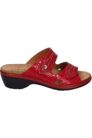 Cypres Dames Clogs - Moni Capel Red