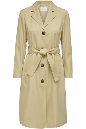 ONLY Dames Trenchcoats - Klassiek Trenchcoat Dames Rood