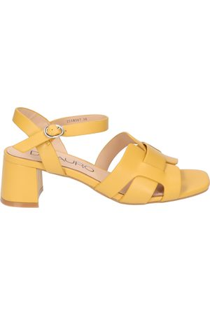 Di lauro Dames Sandalen - Marcia Yellow