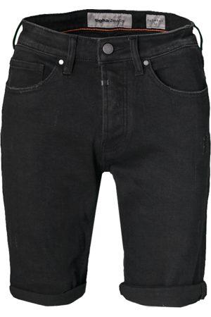 Tigha Heren Jeans Solomon 68108 patched zwart (black)