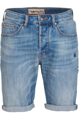 Tigha Heren Jeans Solomon 93114 patched (light blue)
