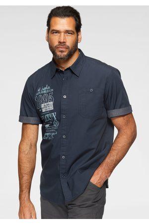 Man's World Heren Casual - Overhemd met korte mouwen