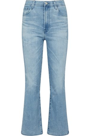 J Brand Franky high-rise bootcut jeans
