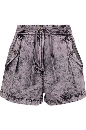 ULLA JOHNSON Alec high-rise denim shorts