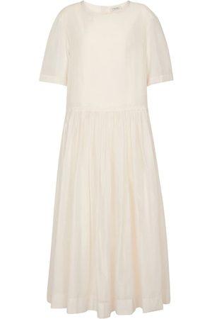 Max Mara Dames Lange jurken - Caldeo cotton-blend maxi dress