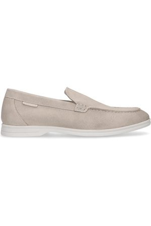 Manfield Heren Loafers - Suède loafers
