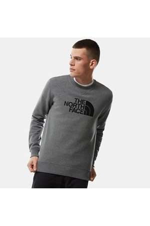The North Face The North Face Drew Peak-sweater Voor Heren Tnf Medium Grey Heather/tnf Black Größe L Heren