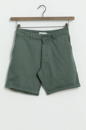 Sissy-Boy Heren Shorts - Groene canvas short