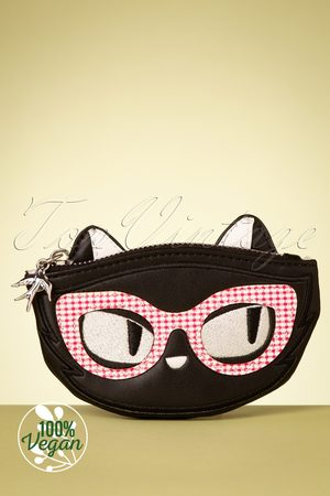 Erstwilder TopVintage exclusive ~ Elissa The Indie Cat Coin Purse