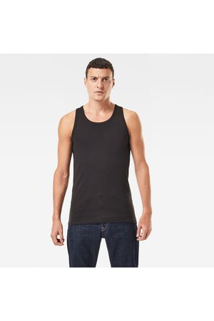 G-Star RAW Heren Shirts - Basic Tanktop 2-Pack