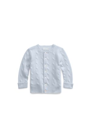 Cubus Cable-Knit Cashmere Cardigan