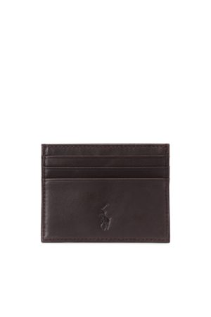 Polo Ralph Lauren Suffolk Slim Leather Card Case