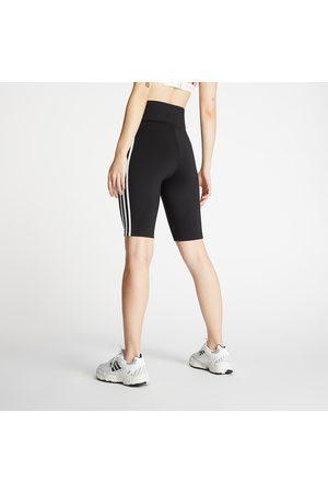 adidas Dames Shorts - Adidas High Waisted Shorts Tights Primeblue Black