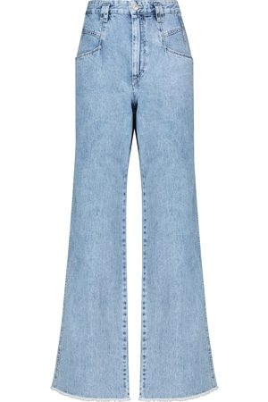 Isabel Marant Dilesqui high-rise wide-leg jeans