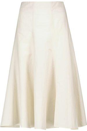 Joseph Sanne cotton and hemp midi skirt