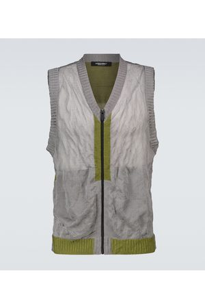 A-cold-wall* Heren Gilets - Core knitted gilet