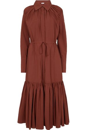 Deveaux New York Dames Shirts - Samira cotton shirt dress